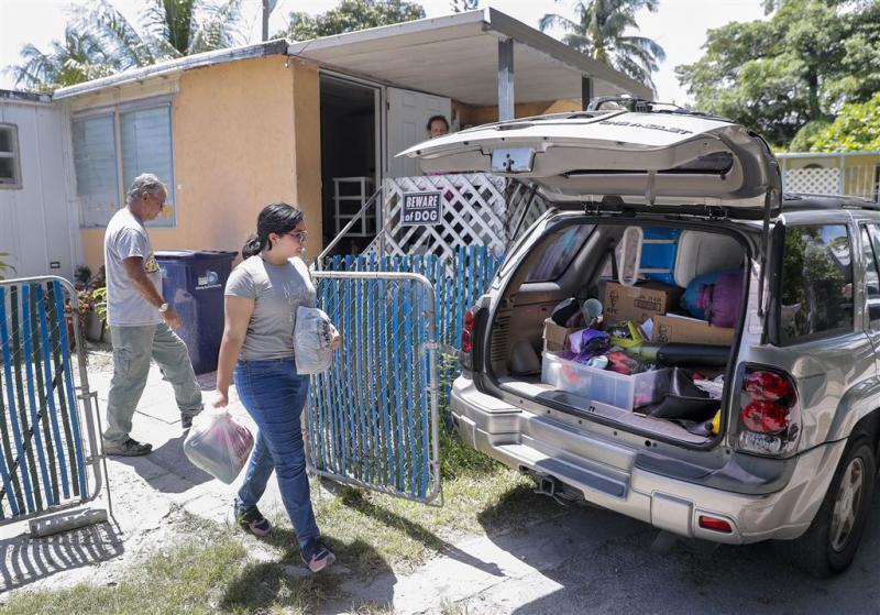 Massale ontruiming rond Miami