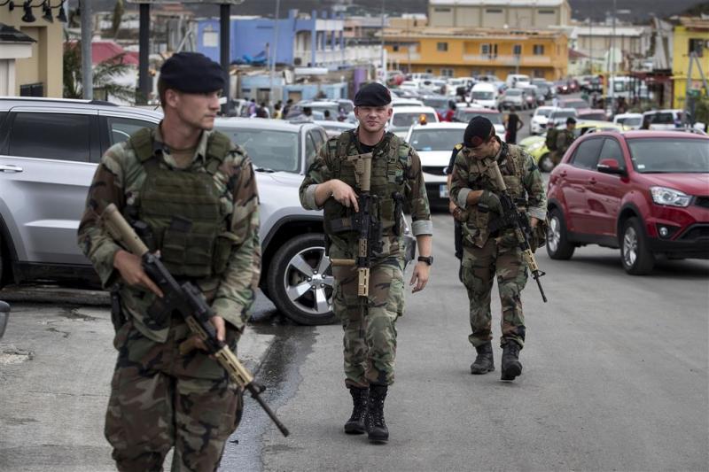 Commandant: schoten gehoord op Sint-Maarten