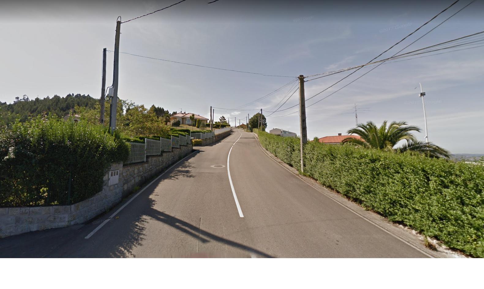 Het gaat pittig omhoog hier (Foto: Google Streetview)