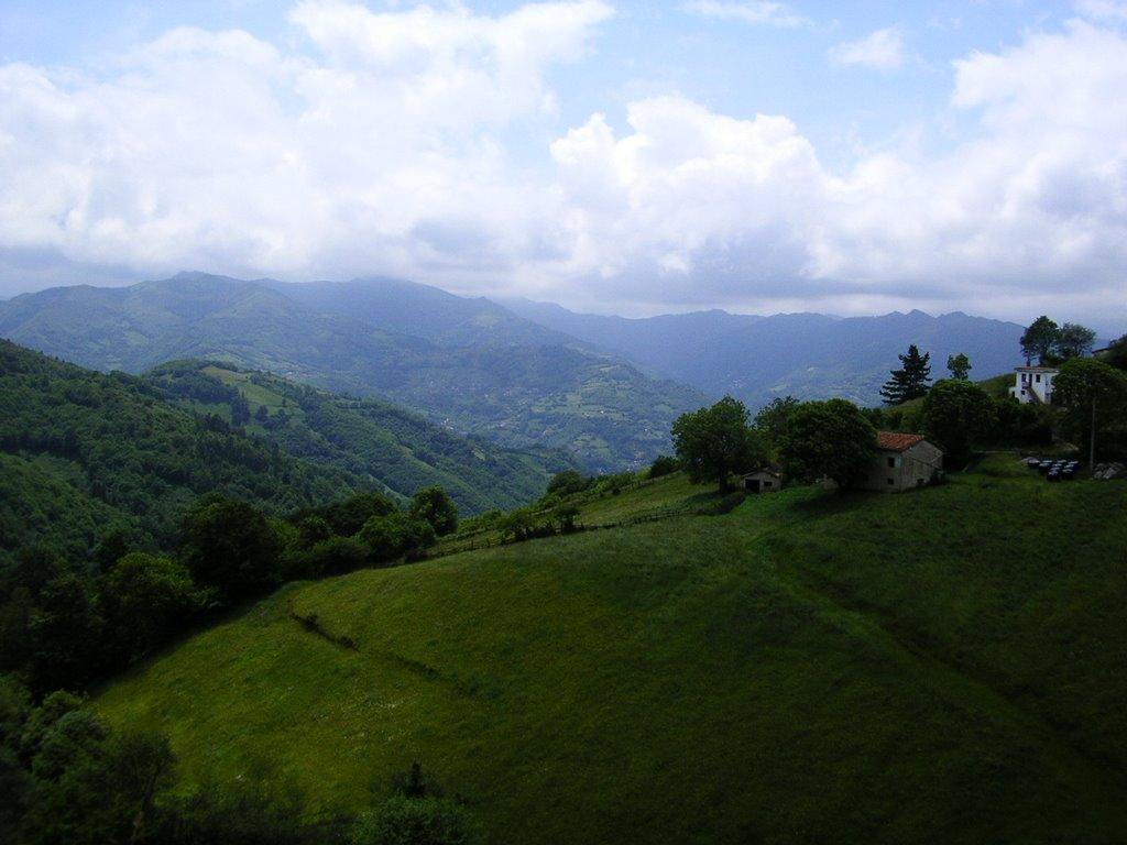 Het uitzicht vanaf La Casilla is goed te doen (Foto: Panoramio)