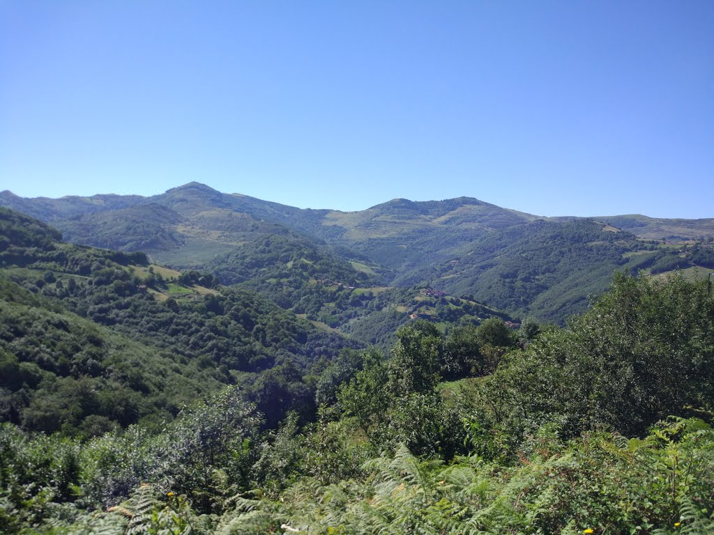 Op weg naar de Alto de Santo Emiliano (Foto: Panoramio)