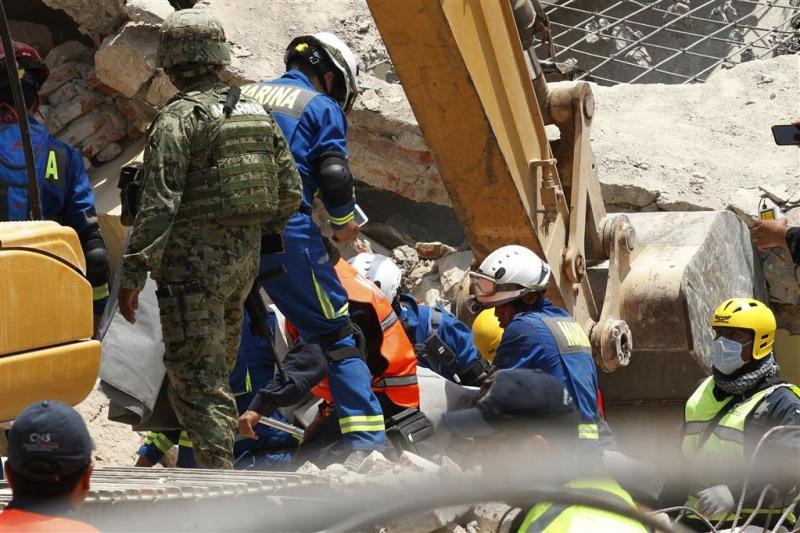 Meer slachtoffers door aardbeving in Mexico