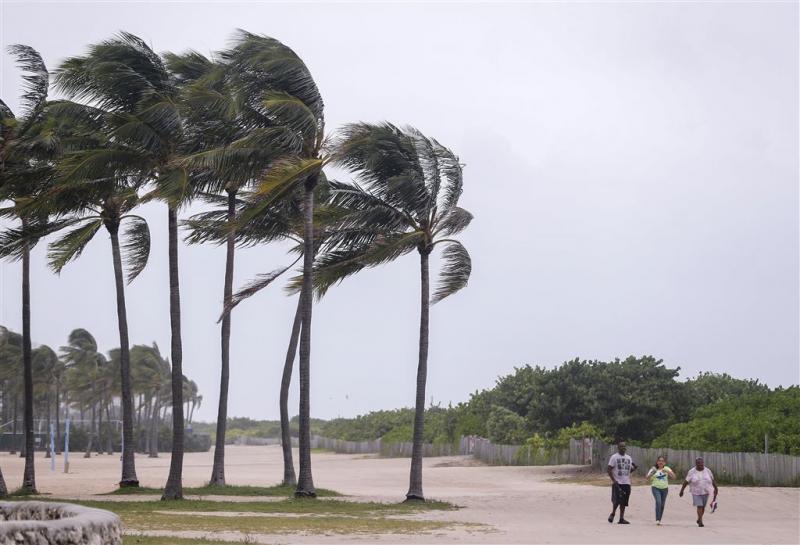 Irma wint aan kracht