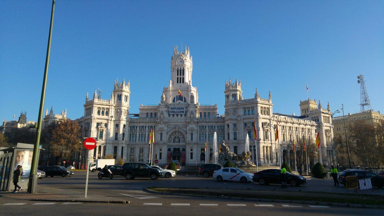 Een eigen foto vanuit Madrid (Foto: Rellende_Rotscholier)