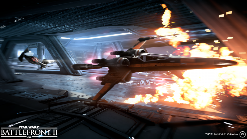 Star Wars: Battlefront 2 - Tie Fighter vs Silencer (Foto: Electronic Arts)
