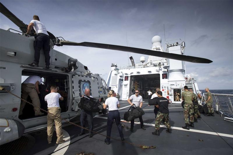 Marineschip Zeeland weer terug in Sint-Maarten