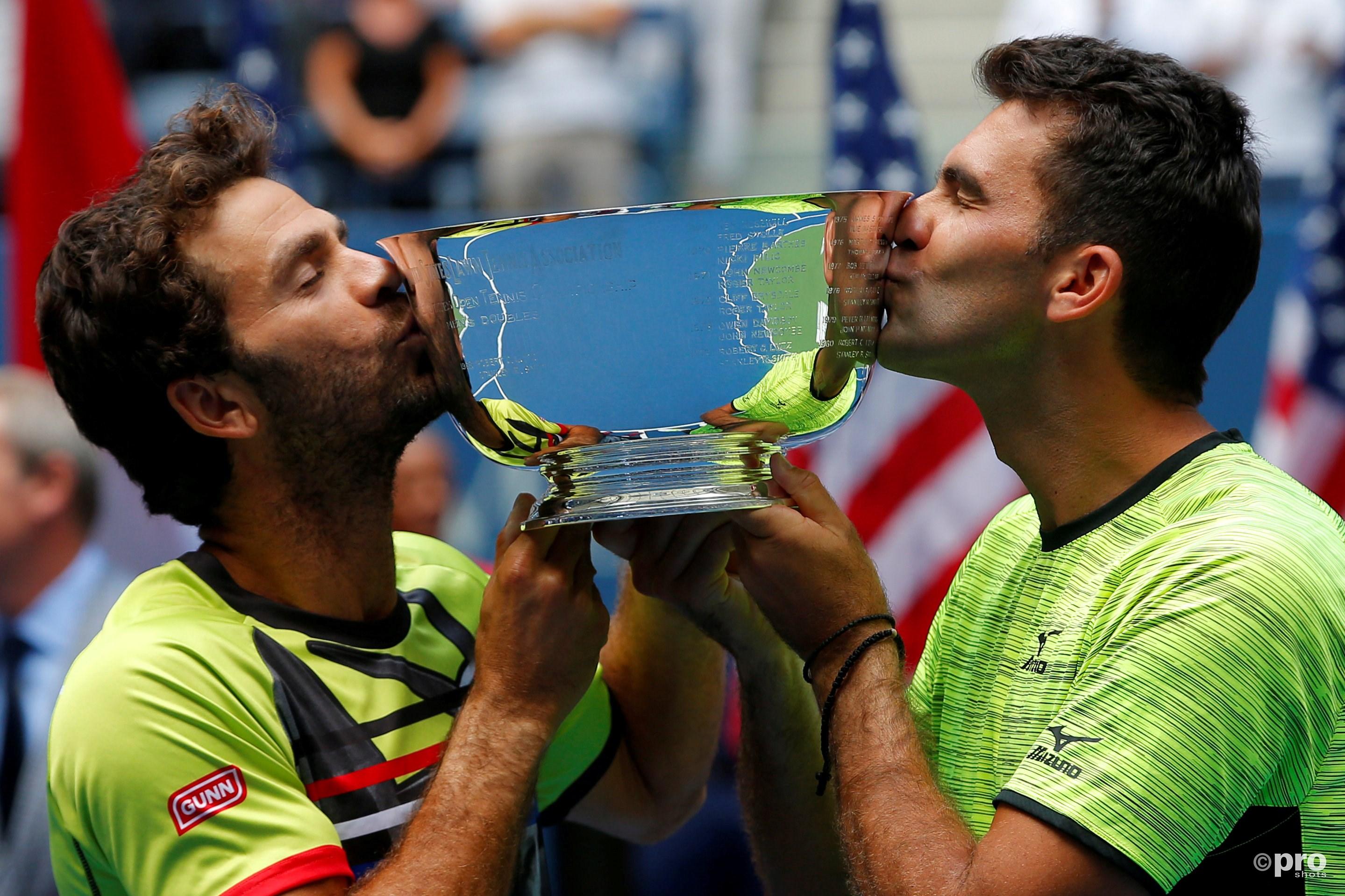 Rojer en Tecau winnen de US Open. (PRO SHOTS/Action Images)
