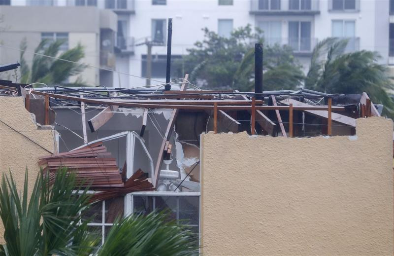 Irma afgezwakt tot categorie 1