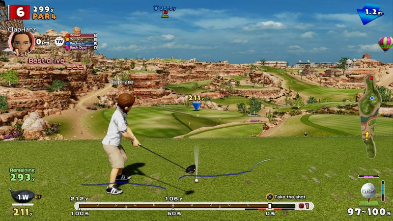 Everybody's Golf 2017 (Foto: Sony)