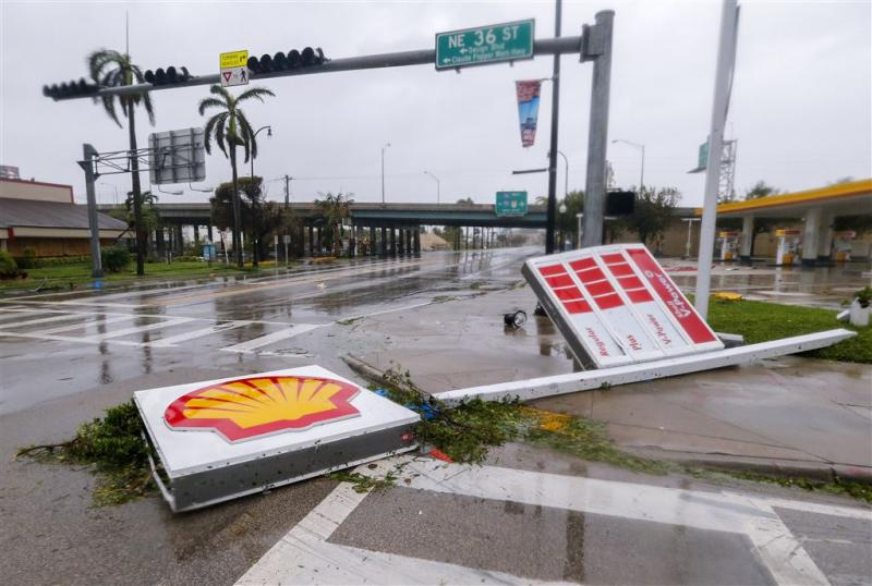 Politie in Florida arresteert plunderaars