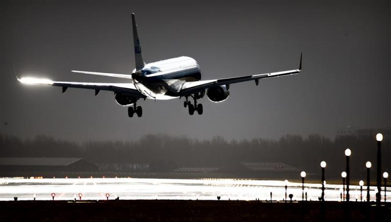 KLM annuleert vluchten wegens storm