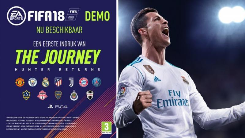 FIFA 18-demo beschikbaar (Foto: Electronic Arts)