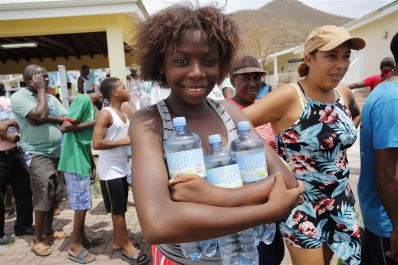 'Water en eten bevolking hoogste prioriteit'