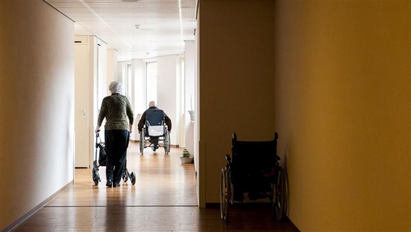 Kwart bewoners verpleeghuis is zelden buiten