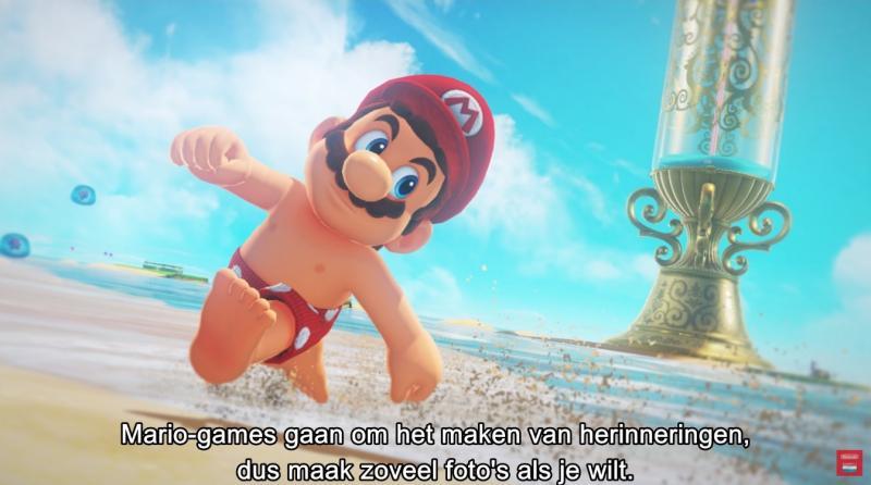 Mario met tepels (Foto: Nintendo)