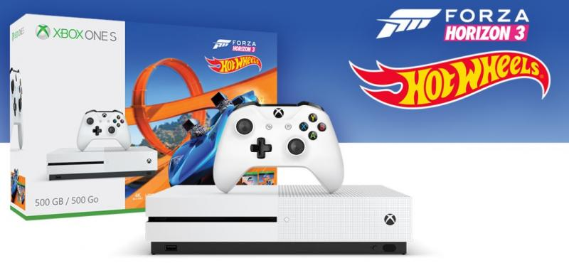 Xbox One S Forza Horizon 3 Hot Wheels-bundel (Foto: Microsoft)