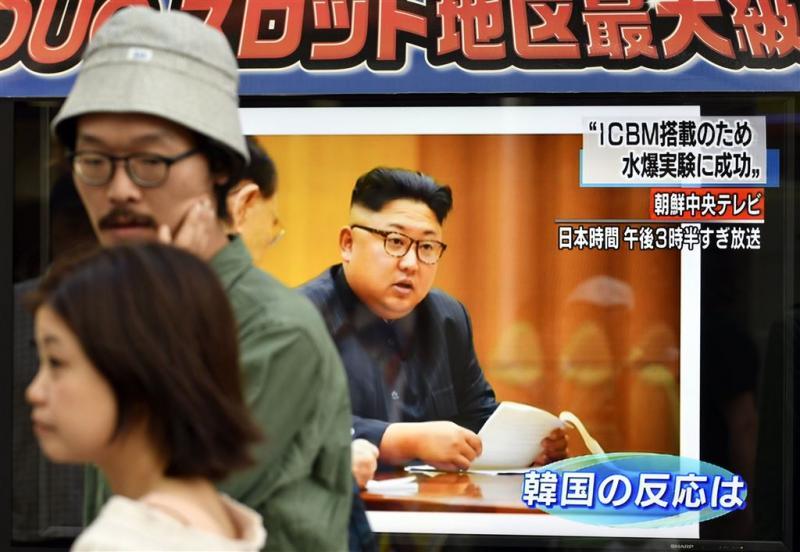 Noord-Korea schiet weer raket richting Japan