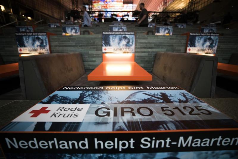 Nederland in actie voor slachtoffers orkaan