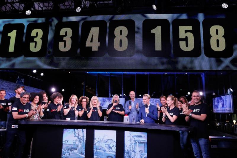 600.000 kijkers Nederland Helpt Sint-Maarten