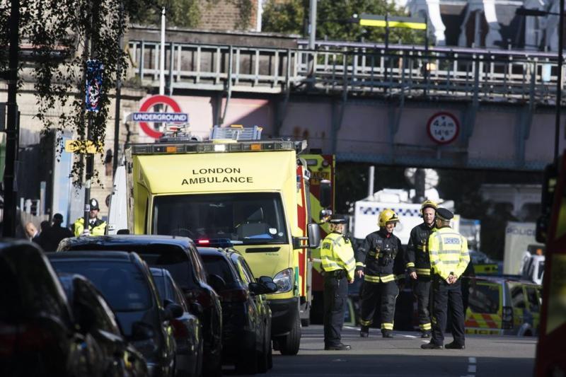Britse politie pakt verdachte aanslag metro