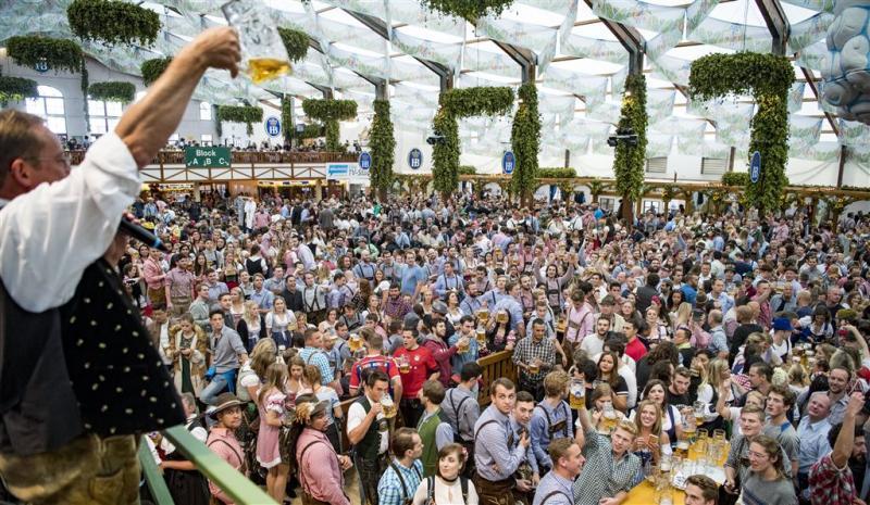 Oktoberfest: eerst regen dan stromen bier