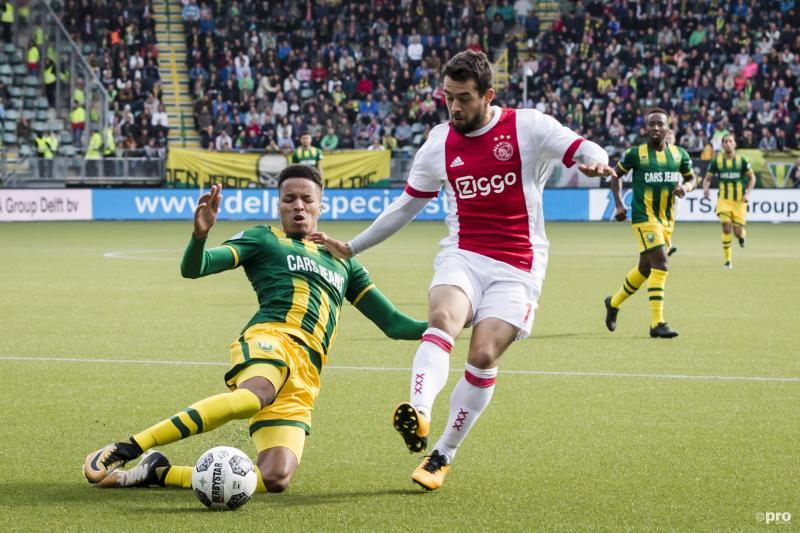 Ajax weet niet te winnen van ADO Den Haag (Foto: Pro Shots/Erwin Spek)