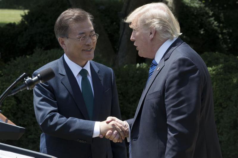 Trump en Moon willen sterkere sancties N-Korea