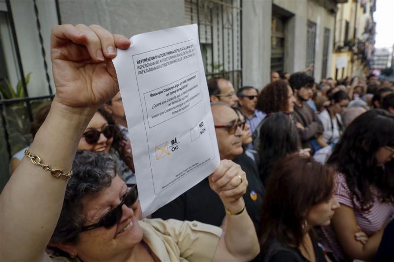 1 miljoen folders Catalanen in beslag genomen