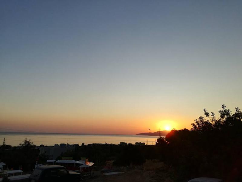 Zonsopgang in Griekenland (Foto: Papabear)