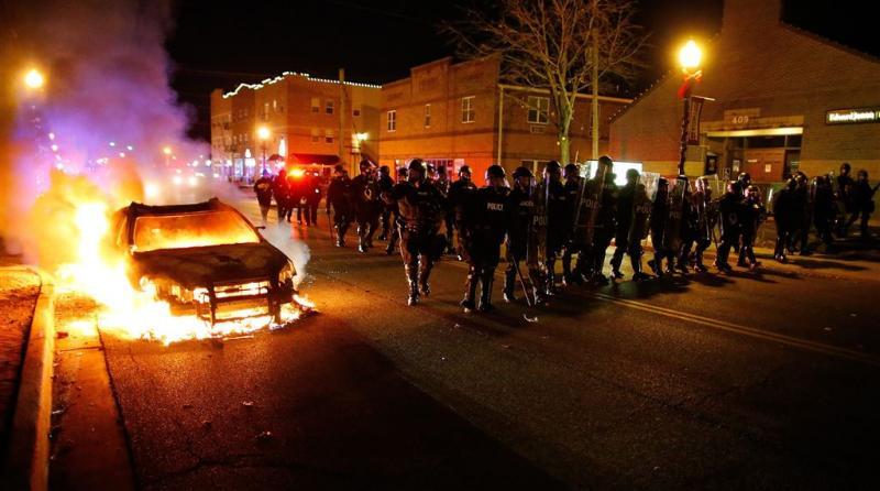 Derde protestdag St.Louis weer onrustig