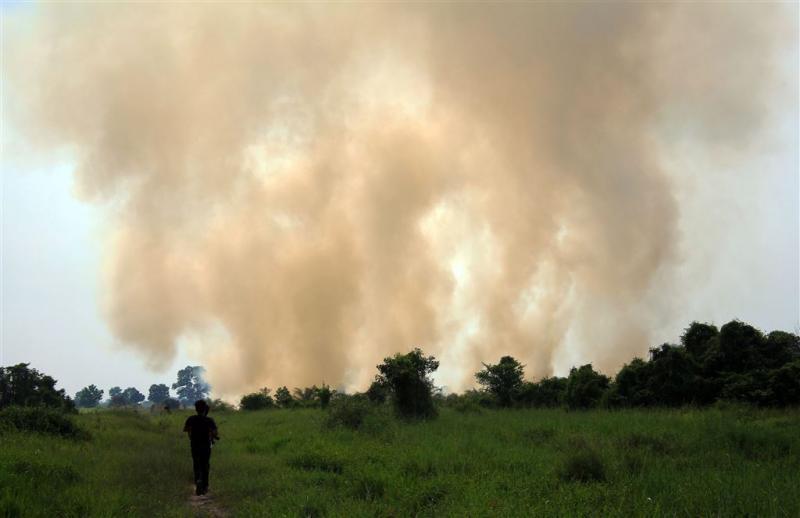 'Bosbranden Sumatra door Nederlands beleid'