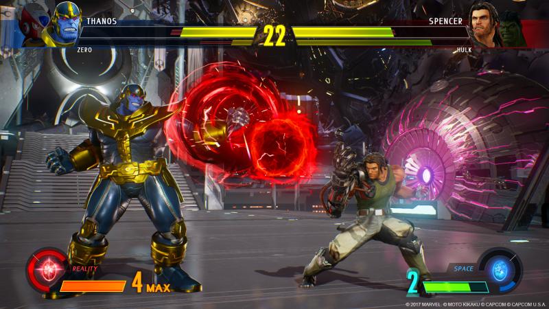 Marvel vs Capcom: Infinite - Thanos (Foto: Capcom)
