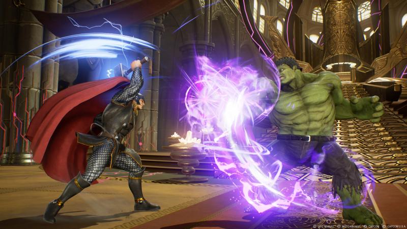 Marvel vs Capcom: Infinite - Thor (Foto: Capcom)