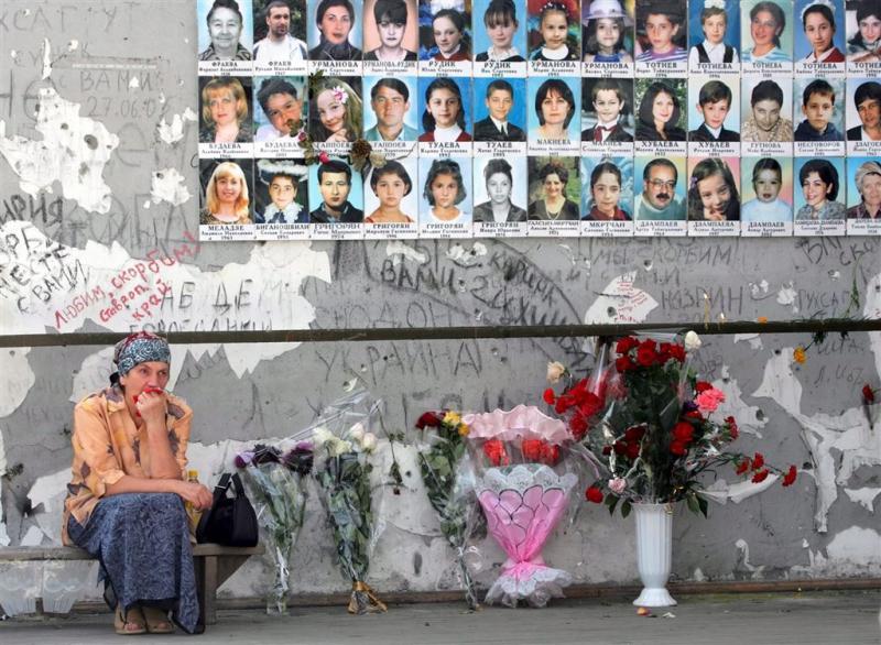 'Rusland betaalt vergoeding voor Beslan'