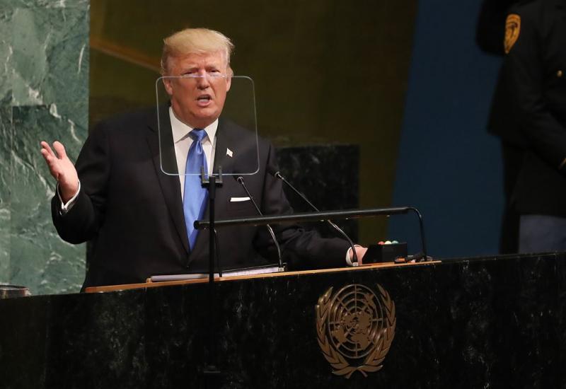 Trump dreigt met vernietiging Noord-Korea