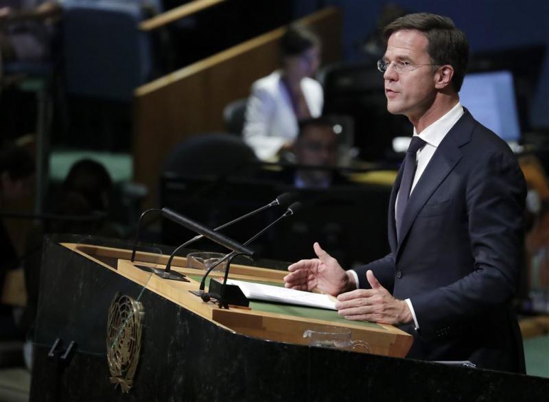 Rutte: sterke VN in veilige en duurzame wereld