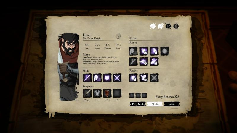 Sword Legacy: Omen - Skills