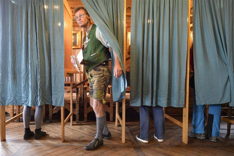 Veel Duitsers hebben al gestemd