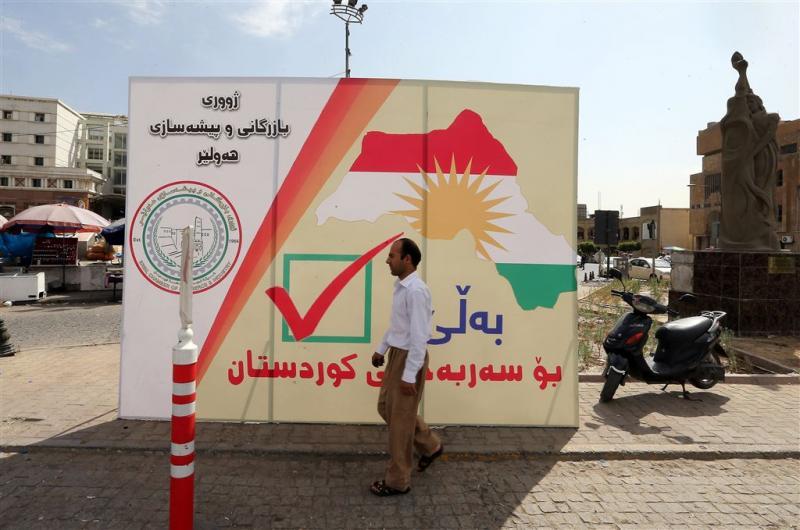 Koerden zetten referendum door