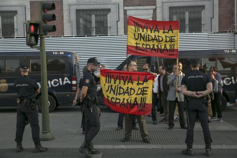 Catalaanse politie onder Spaans bevel