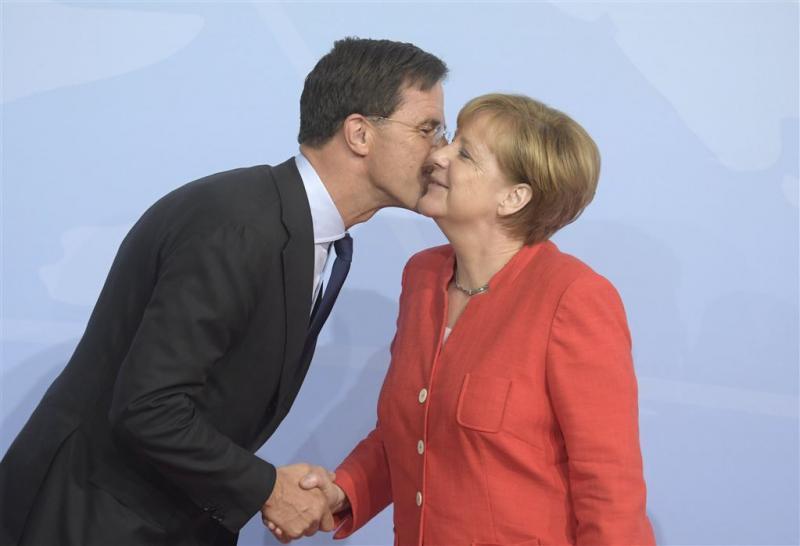 Haagse felicitaties na Duitse uitslag