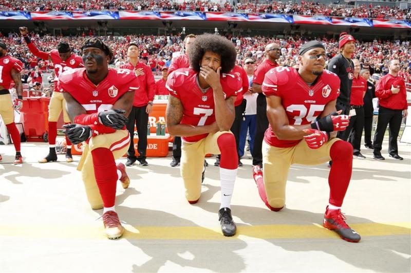Sterren steunen NFL-spelers tegen Trump