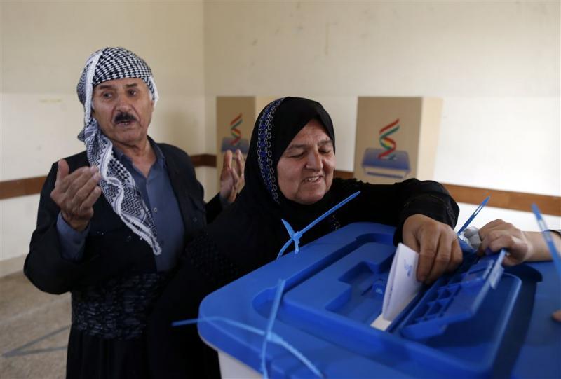 Referendum Noord-Iraakse Koerden begonnen