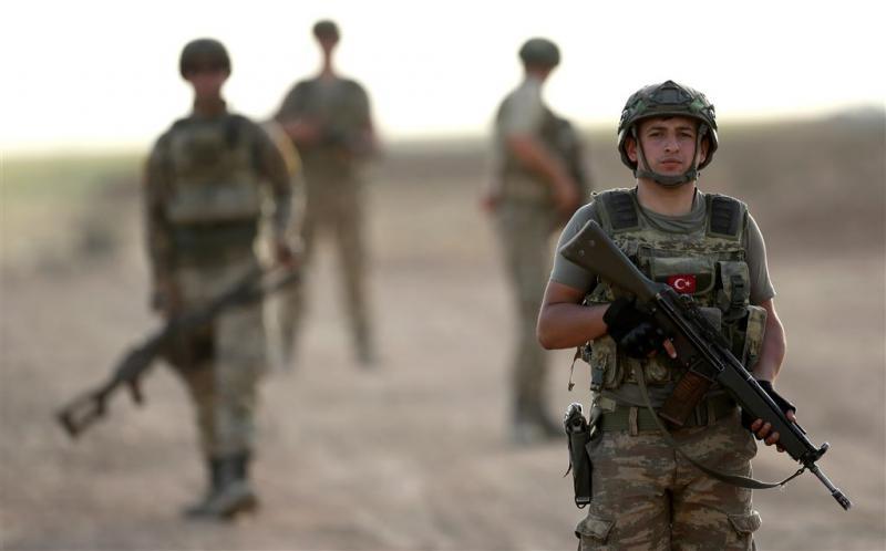 Legermanoeuvres Irak en Turkije in grensgebied