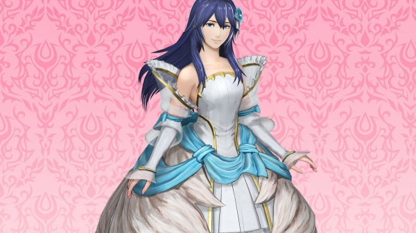 Bruidsjurk voor Lucina in Fire Emblem Warriors