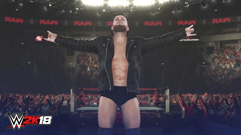 Finn in WWE 2K18 (Foto: 2K Games)