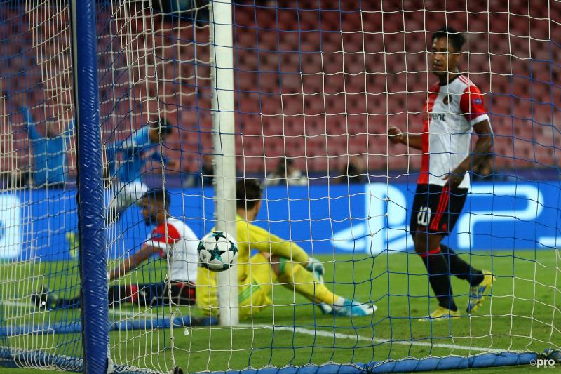 Feyenoord ook kansloos tegen Napoli (Foto: Pro Shots/Insidefoto)