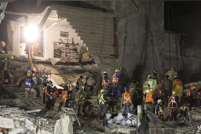 'Nauwelijks meer hoop op overlevenden Mexico'