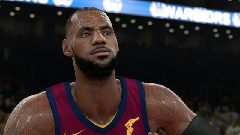 NBA 2K18 - LeBron (Foto: 2K Games)