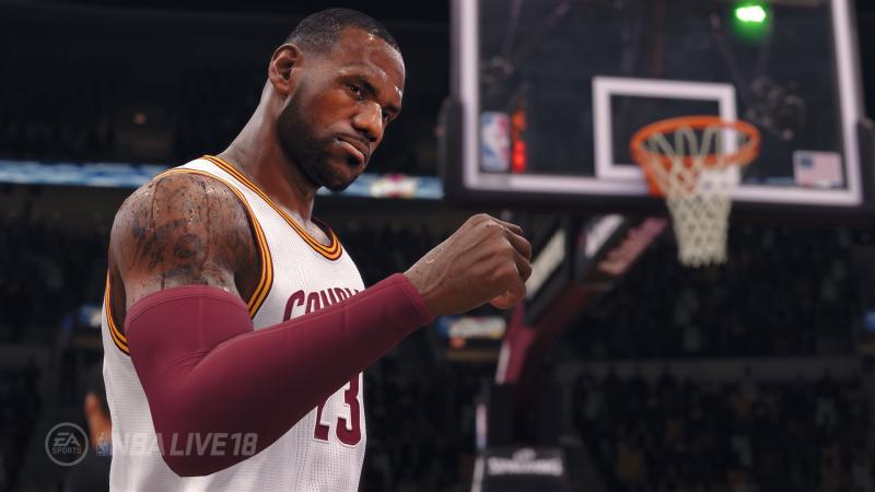 NBA Live 18 - LeBron (Foto: Electronic Arts)